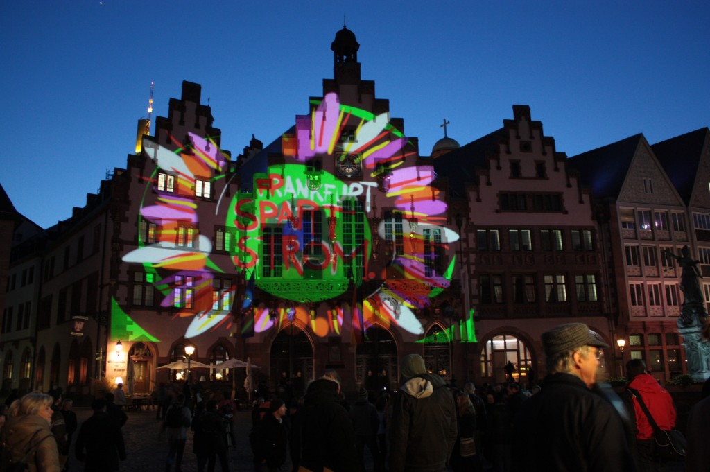 Luminale - Frankfurt spart Strom