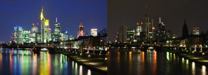 earth hour skyline before after wide